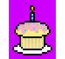 Cupcake (Card) Photographic Print