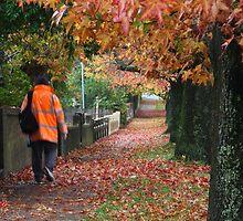 Drizzly Walk Home by Geoff Smith