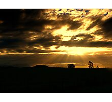 Sunbeams from Heaven Photographic Print