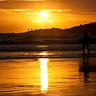 Sunset Surfer by Phil Hammond