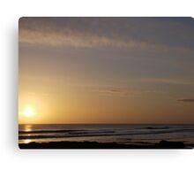tynemouth longsands beach Canvas Print