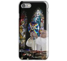 Catholic DJ Earth Pope Francis Turntable EDM iPhone Case/Skin