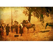 Rural Scene - Greece 1969 Photographic Print