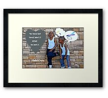 Mother's Saying Framed Print