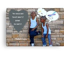 Mother's Saying Canvas Print