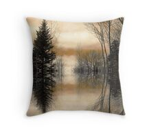 """Mirror"" Throw Pillow"