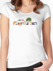 Character Caracters Women's Fitted Scoop T-Shirt