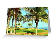 Paradise In Broome Greeting Card