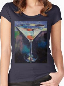 Bombay Sapphire Martini Women's Fitted Scoop T-Shirt