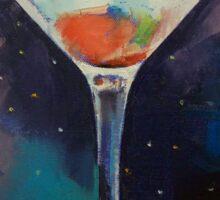 Bombay Sapphire Martini Sticker