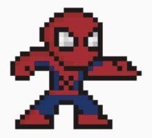 8-Bit Spider-Man One Piece - Long Sleeve