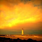 Perch Rock Lighthouse by Tony Worrall