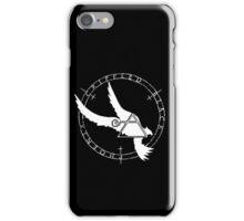 Crippled Black Phoenix 2015 A.D. (White V.2) iPhone Case/Skin