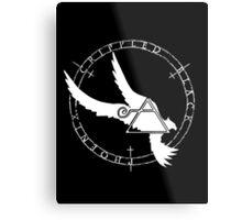 Crippled Black Phoenix 2015 A.D. (White V.2) Metal Print