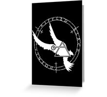 Crippled Black Phoenix 2015 A.D. (White V.2) Greeting Card