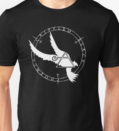 Crippled Black Phoenix 2015 A.D. (White V.2) Unisex T-Shirt
