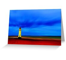 Perch Rock Lighthouse Greeting Card