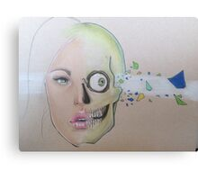 Bullet Lady  Canvas Print
