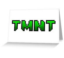 TMNT Logo Greeting Card