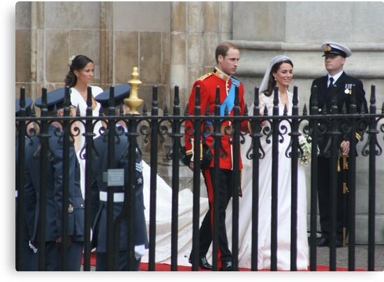 PRINCE WILLIAM AND CATHERINE MIDDLETON  by Marie Brown ©