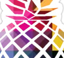 Pineapple of Color Sticker