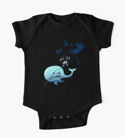 Whales are Furious! One Piece - Short Sleeve