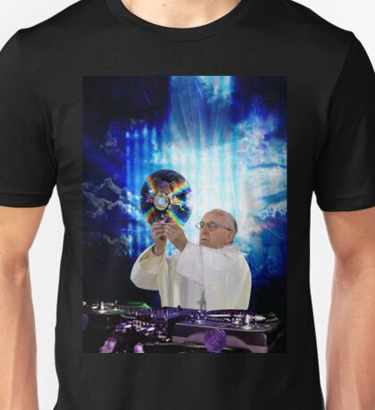 DJ EDM Earth Pope Francis The Pope is Dope! Unisex T-Shirt