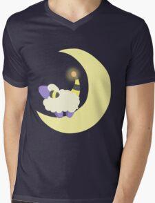 Moon Mareep Mens V-Neck T-Shirt