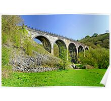 Monsal Dale Viaduct Poster