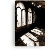 For this little hour Canvas Print