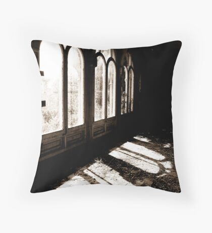 For this little hour Throw Pillow
