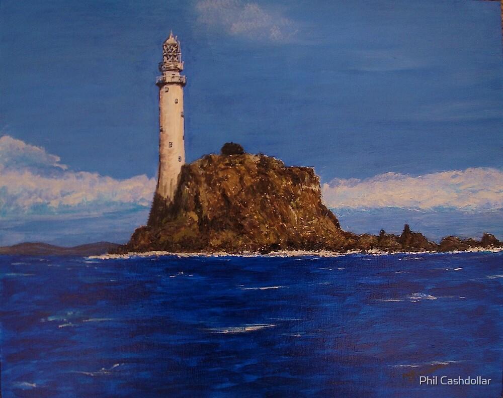 """Fastnet Rock Light""  (County Cork, Ireland) by Phil Cashdollar"