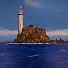 """Fastnet Rock Light""  (County Cork, Ireland) by Phil Cashdollar"