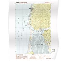 USGS Topo Map Oregon Garibaldi 279985 1985 24000 Poster