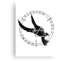 Crippled Black Phoenix 2015 A.D. (Black V.1) Metal Print