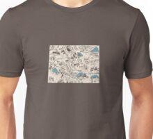 Colorado Vintage Picture Map Unisex T-Shirt