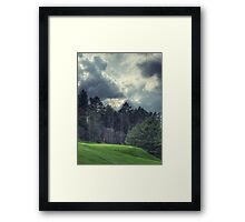 The Green at Hole #1 Framed Print