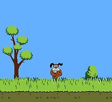 Duck Hunt Dog by snesfreak