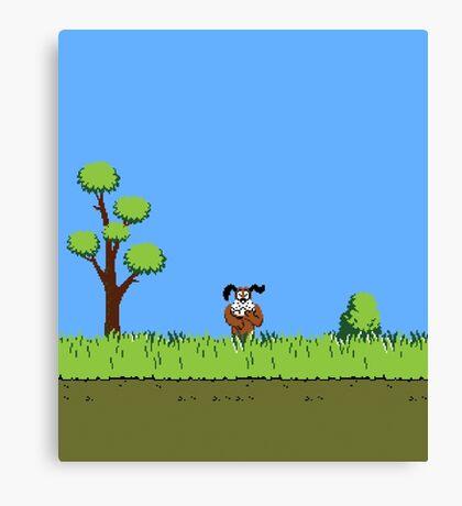 Duck Hunt Dog Canvas Print