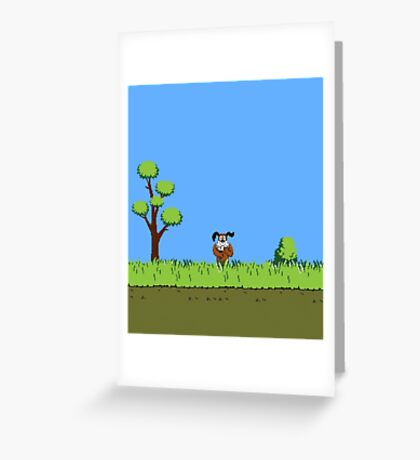 Duck Hunt Dog Greeting Card