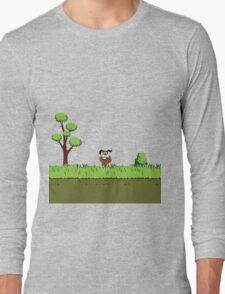 Duck Hunt Dog Long Sleeve T-Shirt