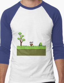 Duck Hunt Dog Men's Baseball ¾ T-Shirt
