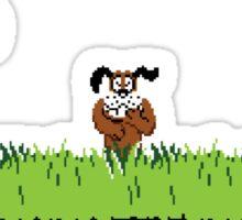 Duck Hunt Dog Sticker