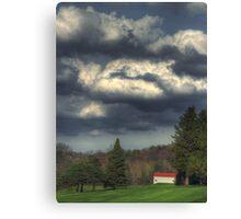Fairway Cloudscape Canvas Print
