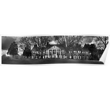 Hayfield House panorama Poster