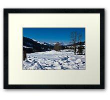 Snowscape 1 Framed Print