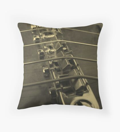 ABR in Sepia Throw Pillow
