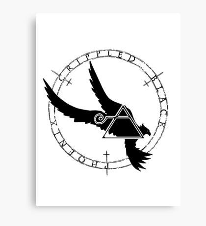 Crippled Black Phoenix 2015 A.D. (Black V.2) Canvas Print
