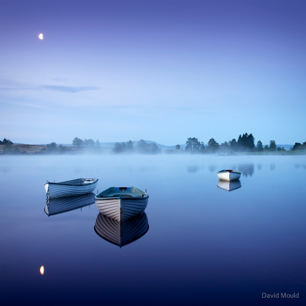 Loch Rusky , Trossachs by David Mould