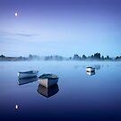 Loch Rusky , Trossachs by David Mould
